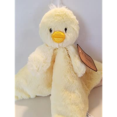 BABY DUCK BLANKIE with RATTLE by K.luxe baby: Baby