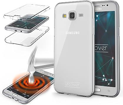 Urcover® Funda Compatible con Samsung Galaxy J7 2015 Carcasa ...