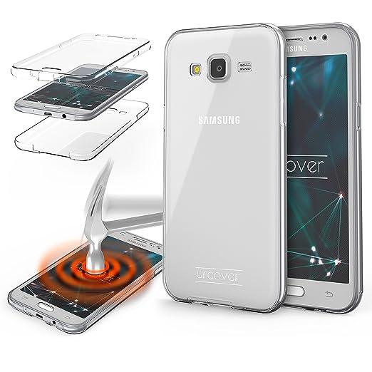 2 opinioni per URCOVER® 360 Grad Case Cover Protettiva   Custodia Samsung Galaxy J5 (2015)  
