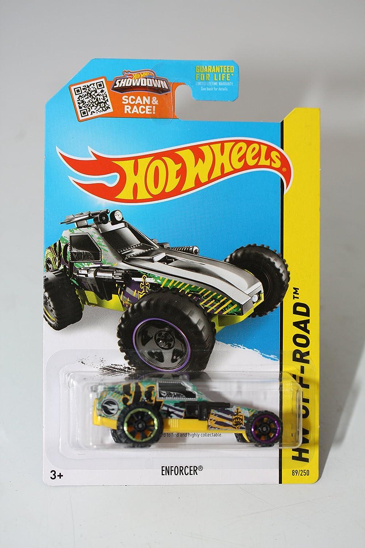 2015 Hot Wheels Treasure Hunt Enforcer 89//250 Mattel