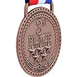 3rd Place Winner Bronze Award Medal, Antique Bronze