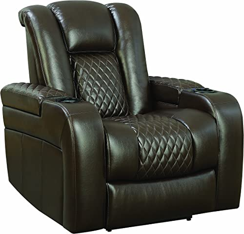 Coaster Home Furnishings Recliner, Brown
