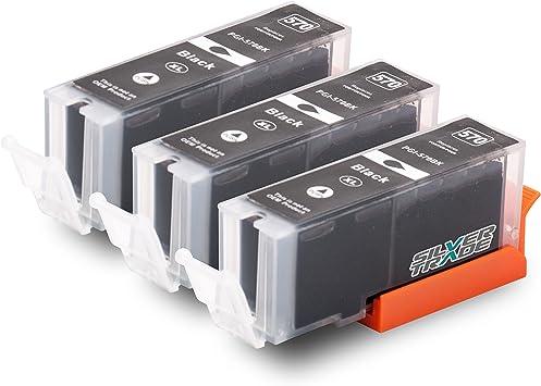 3 Druckerpatronen Kompatibel Zu Canon Pgi 570xl Schwarz Mit Chip Füllstandsanzeige Für Canon Pixma Mg5750 Mg5751 Mg5752 Mg5753 Mg6850 Mg6851 Mg6852 Mg6853 Mg7750 Mg7751 Mg7752 Mg7753 Mg7752 Mg7753 Bürobedarf Schreibwaren