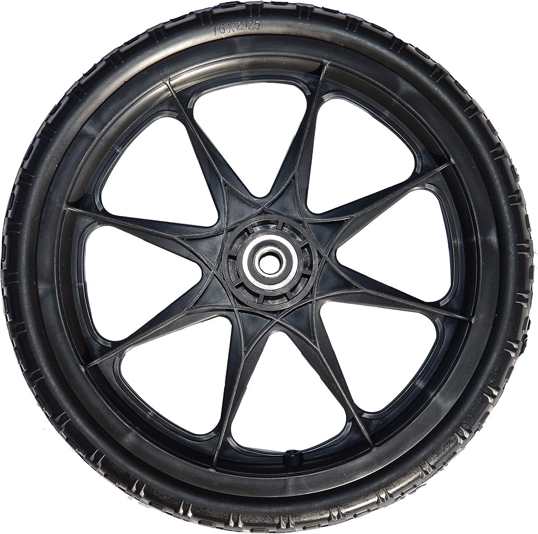 """Metal 16 Spokes Cart Wheel Wheel 13/"""" Rubber"""
