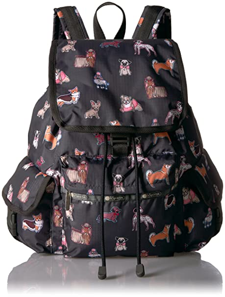 652cfad5b LeSportsac Women's Classic Voyager Backpack, Take a Bow Wow: Amazon ...