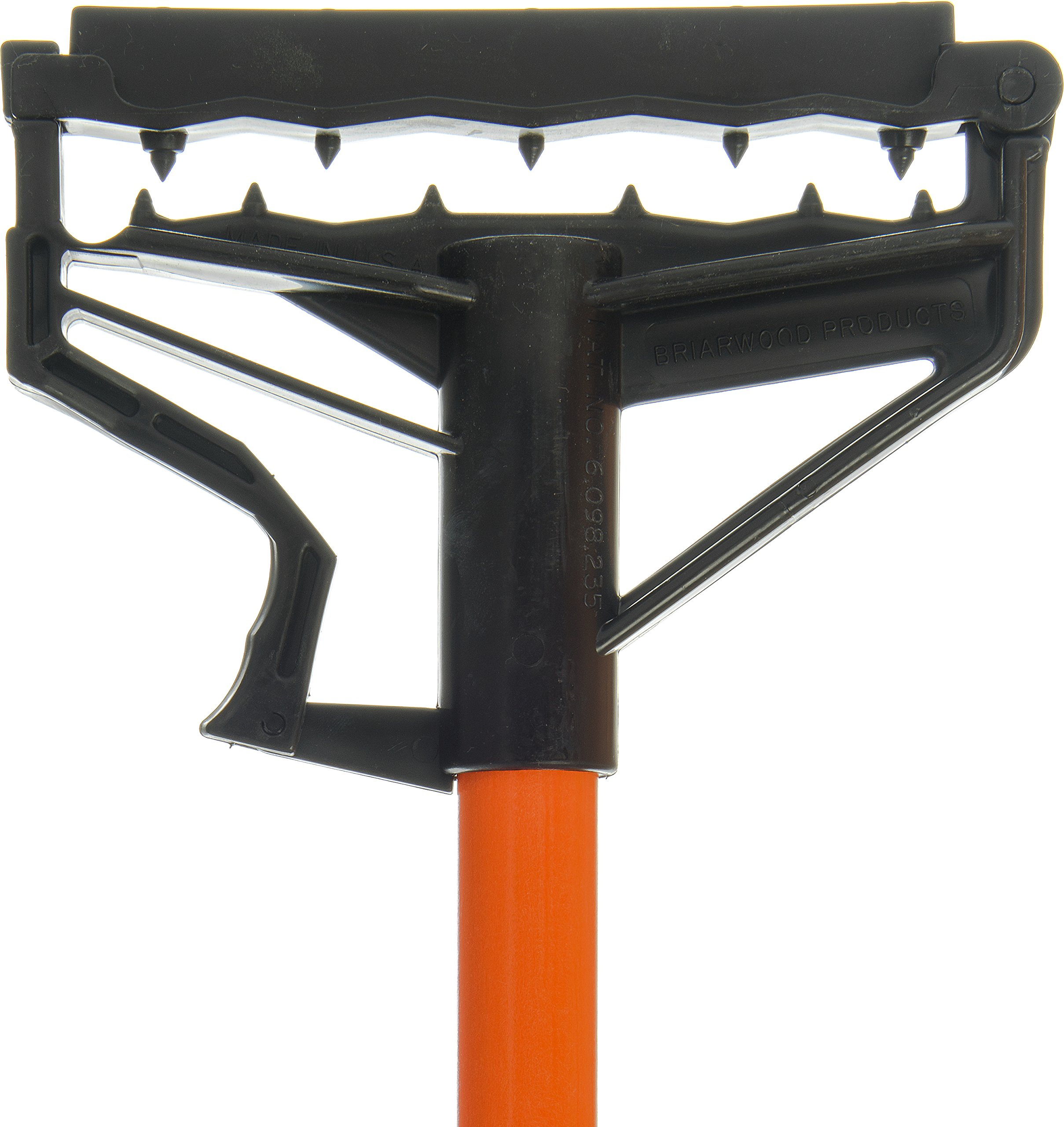 Carlisle 4166424 Commercial Side-Gate Fiberglass Wet Mop Handle, 60'', Orange by Carlisle (Image #2)