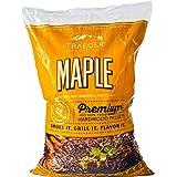 Traeger PEL308 Grills Maple 100% All-Natural Hardwood Pellets - Grill, Smoke, Bake, Roast, Braise, and BBQ (20 lb. Bag)