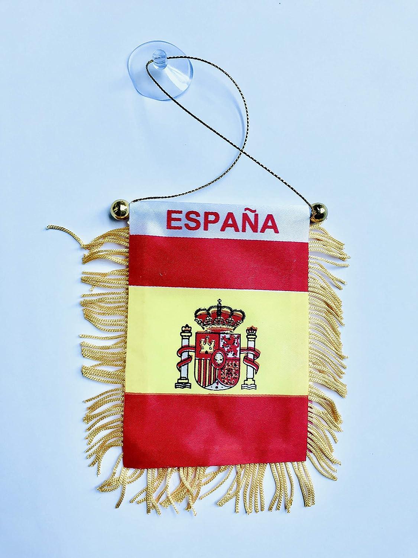 Desconocido Espana - Banderín para Espejo retrovisor RV Boat ...