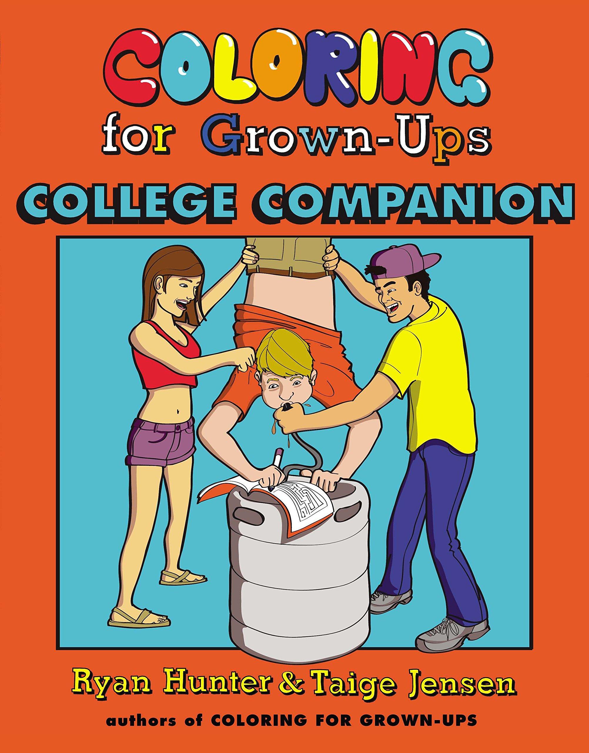 Amazon.com: Coloring for Grown-Ups College Companion (9780142181416 ...