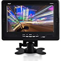 """Premium 7"""" Inches Rearview Car LCD Monitor by Pyle – Parking Monitor Assistant with Wireless Remote Control – Full Color…"""
