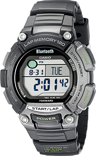 Amazon.com: Casio Mens STB-1000-1CF OmniSync Sports Gear ...