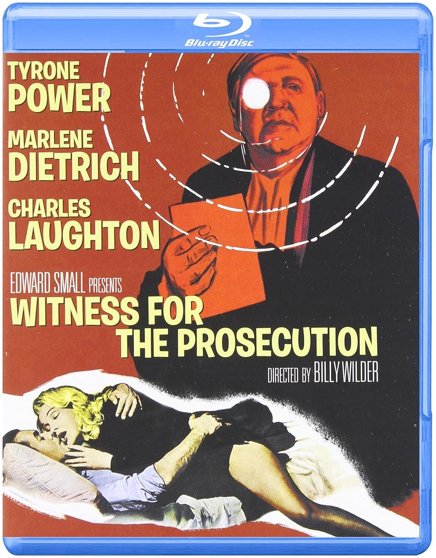 Witness for the Prosecution Blu-ray 1957 US Import: Amazon.co.uk ...