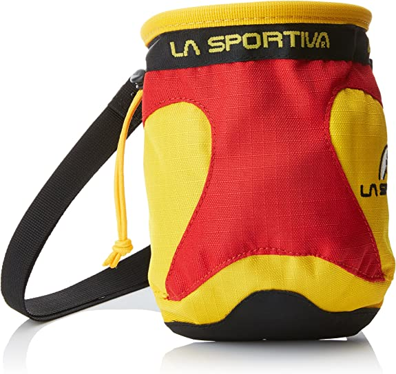 La Sportiva Chalk Bag Mochila, Unisex Adulto, Amarillo (Testarossa), 24x36x45 cm (W x H x L)