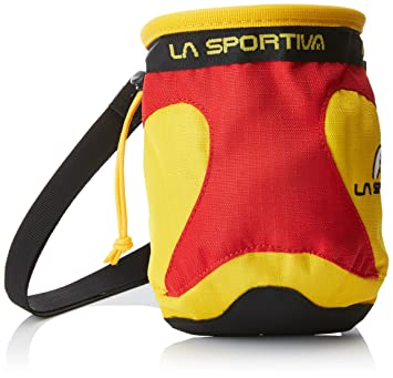 Amazon.com: La Sportiva Chalk Bag Testarossa?-? Bolsa de ...