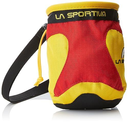 La Sportiva 19B Bolsa para Magnesio, Unisex Adulto, Amarillo (testarossa), Talla Única: Amazon.es: Zapatos y complementos