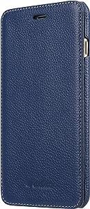 Melkco Premium Leather Face Cover Book Type Case for Apple iPhone 8 Plus/iPhone 7 Plus (5.5