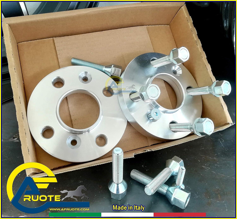 BULLONI 12 X 1,25 CONICO TUTTO MADE IN ITALY SP//4012CBT7 KIT 2 DISTANZIALI DA 12mm 4X98 58,1