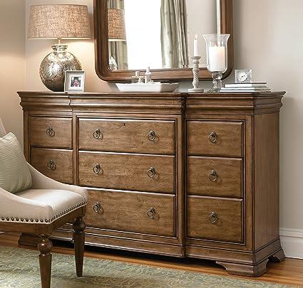Nice Pennsylvania House 071040 New Lou Drawer Dresser, Cognac
