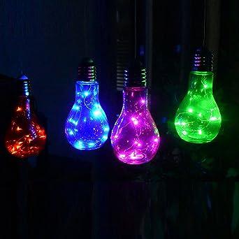 Glühbirne Deko retro led le deko glühbirne aus glas mit intrigierter mirco