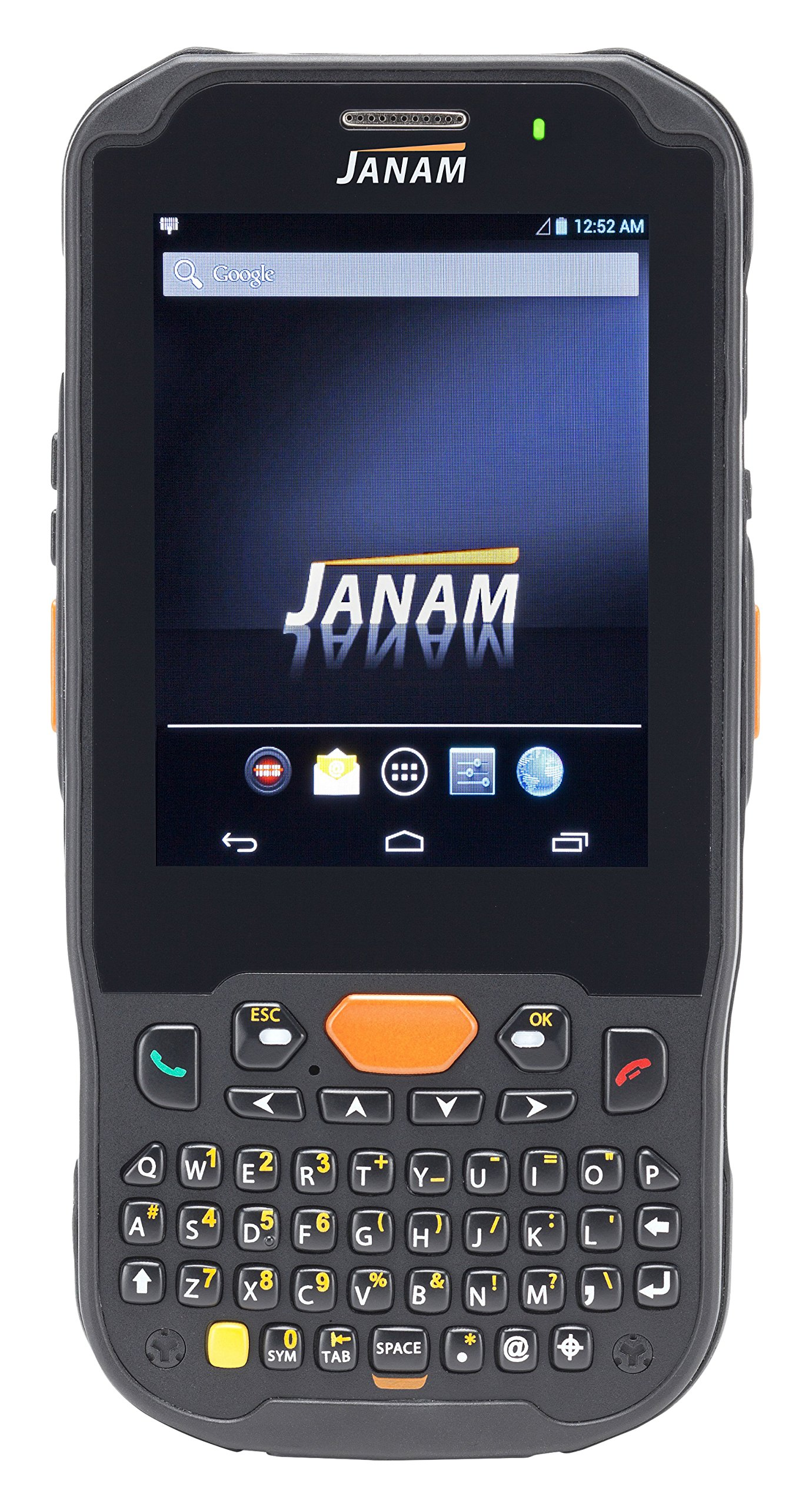 Janam XM5-1NKLRDGV00 Series XM5 Handheld Computing Devices, WEH 6.5, 2D Imager, 802.11ABGN, GPS, HF RFID, Bluetooth, Camera, 4000 mAh, Numeric Keypad by JANAM