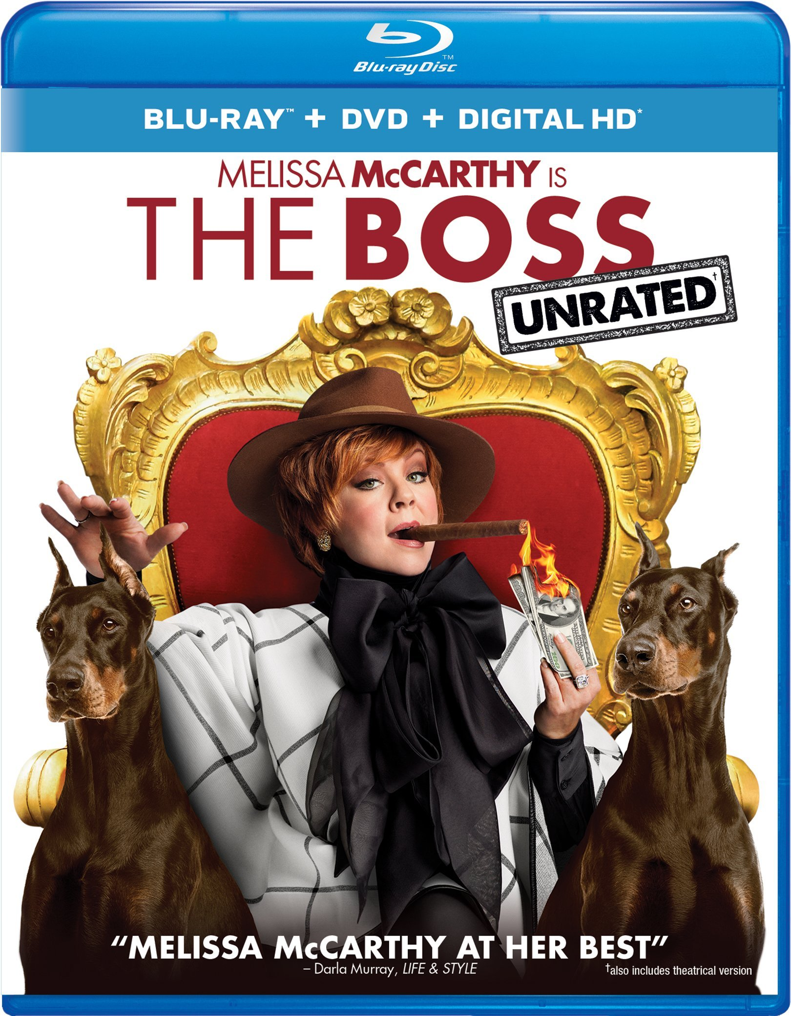 Blu-ray : The Boss (With DVD, Ultraviolet Digital Copy, 2 Pack, Snap Case, Slipsleeve Packaging)