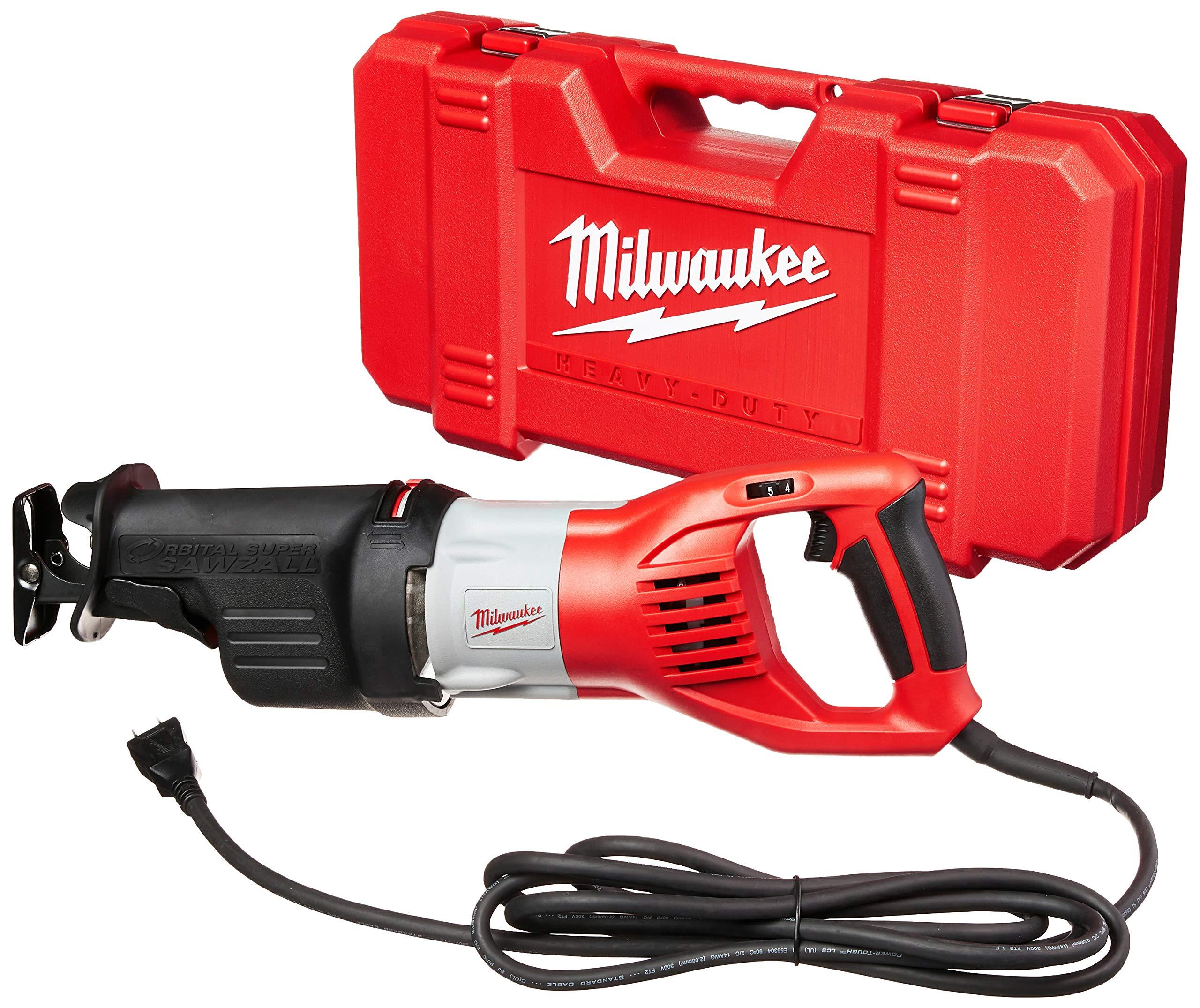 Milwaukee 6538-21 15.0 Amp Super Sawzall Reciprocating Saw by Milwaukee