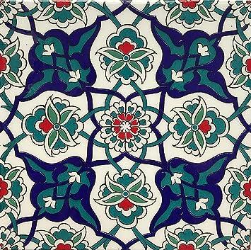 Turkische Iznik Nelke Blumenmuster 20 3 X 20 3 Cm Keramik Fliesen
