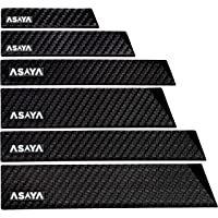 Professional Knife Edge Guards - 6 Piece Universal Blade Covers - Extra Strength, ABS Plastic and BPA-Free Felt Lining…
