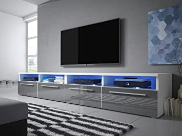 Tv lowboard led  Siena Double - TV Lowboard / TV Schrank: Amazon.de: Elektronik