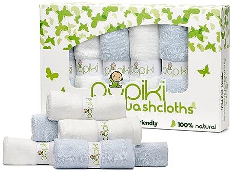 Review Pupiki Baby Washcloths: 6