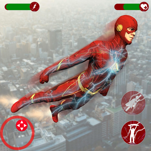 Super Speed Rescue Survival: Flying Hero Games