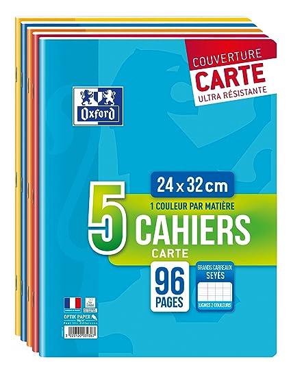 Oxford Color Life Cuadernos con grapas, 24 x 32 cm, colores ...