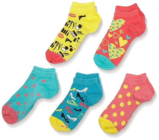 3 opinioni per s.Oliver Socks S24132- Calze Bambina, confezione da 5, multicolore, taglia 31-34