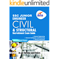 SSC Junior Engineer Civil & Structural Engineering Recruitment Exam Guide (English)