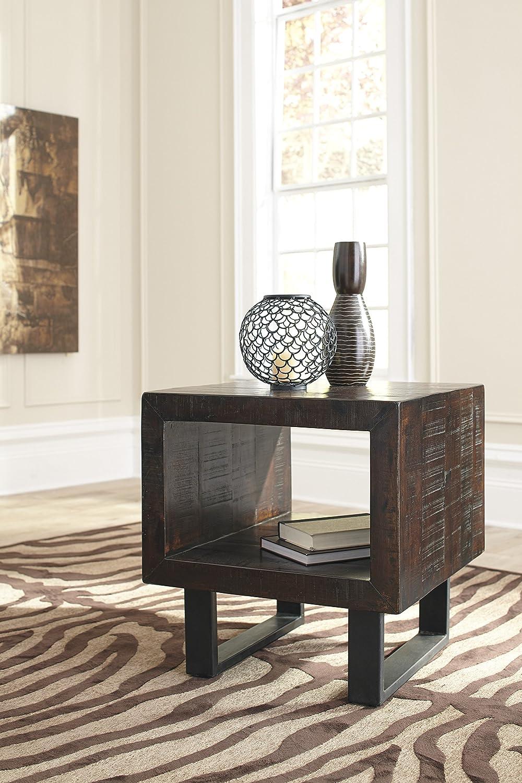 Amazon.com: Signature Design by Ashley Parlone T881-3 End Table ...