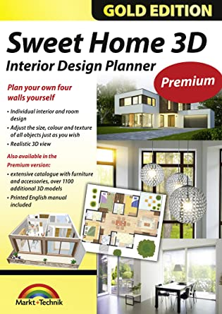 Sweet Home 3D Premium Edition - Interior Design Planner with an additional  1100 3D models and