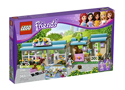 Amazoncom Lego Friends Heartlake Vet 3188 Toys Games
