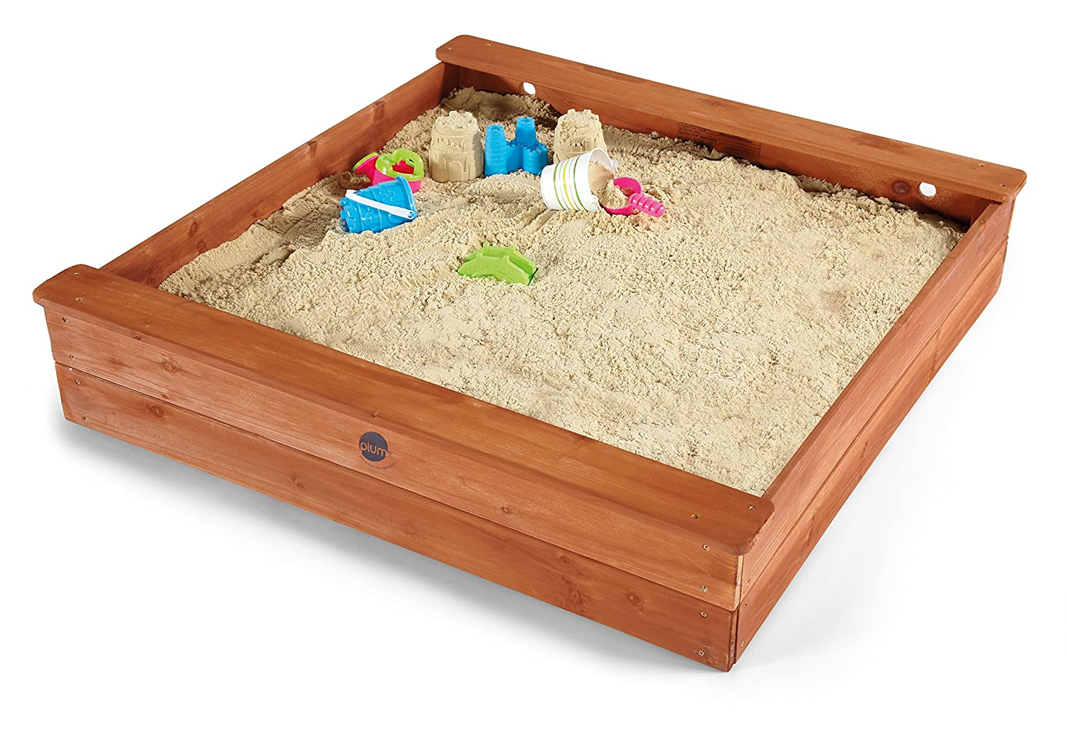Plum Products 25055 - Square Wooden Sand Pit