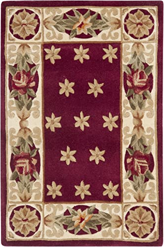 Safavieh Naples Collection NA610C Handmade Multicolored Wool Area Rug, 2 feet by 3 feet 2 x 3