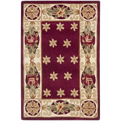 Safavieh Naples Collection NA610C Handmade Multicolored Wool Area Rug, 2 feet by 3 feet 2 x 3