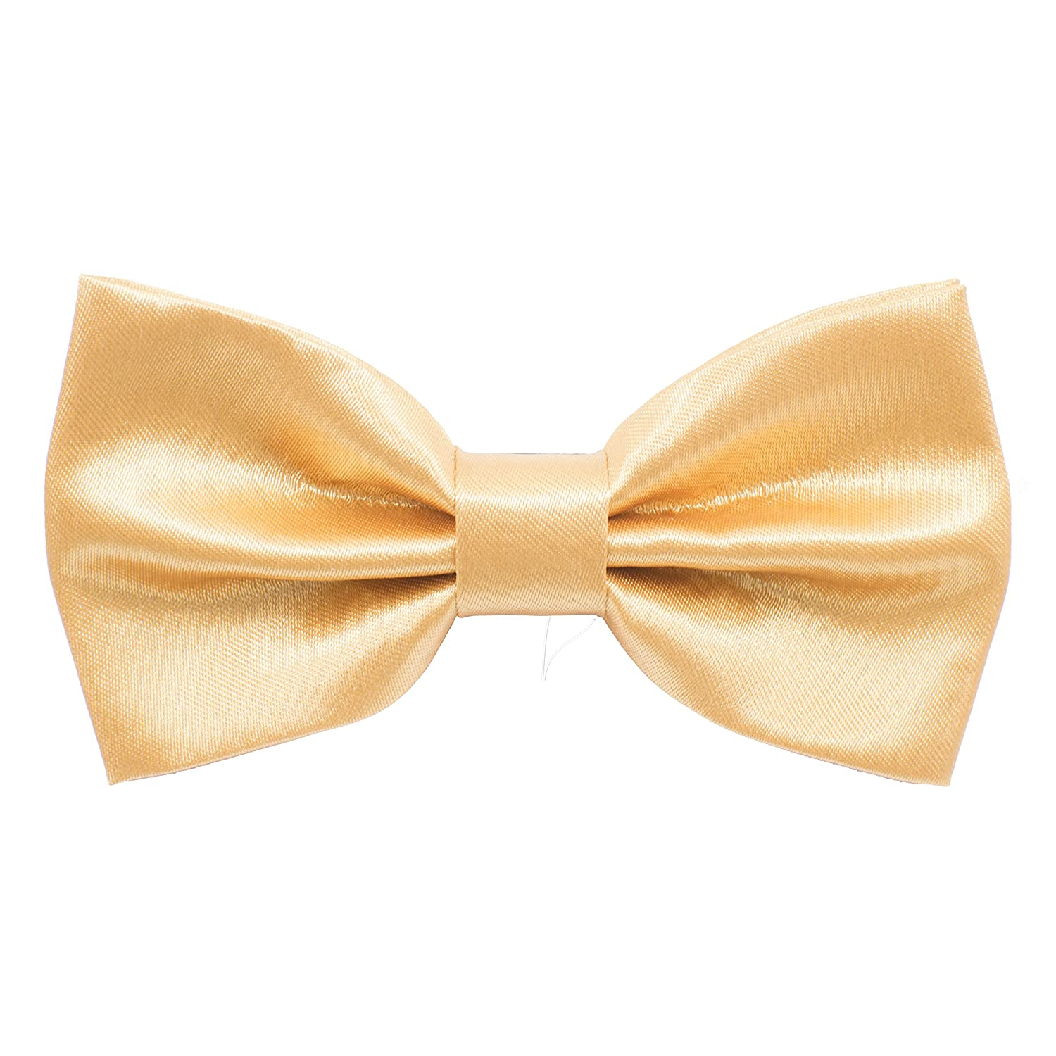 Satin Classic Pre-Tied Bow Tie Formal Solid Tuxedo for Adults & Children, by Bow Tie House 09565L