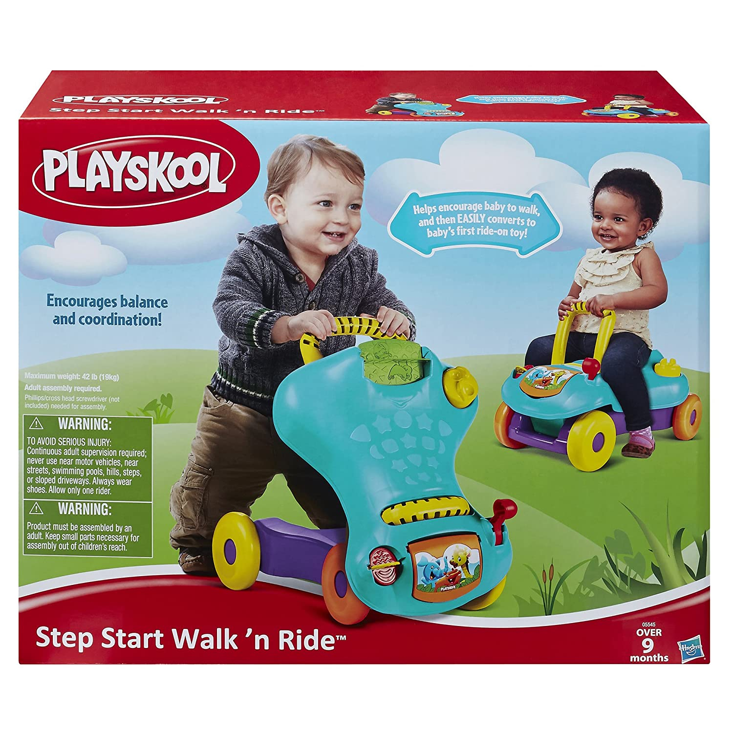 Playskool Step Start Walk n Ride Playskool Amazon Toys & Games