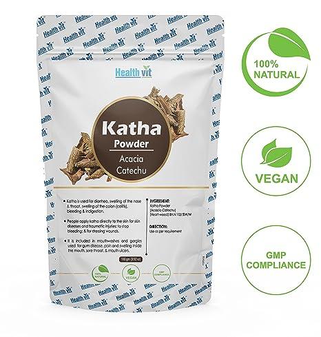 Healthvit Pure Organic Katha Powder - 100 g
