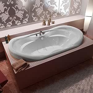 Atlantis Whirlpools 4170IDR Indulgence 41 x 70 Oval Air & Whirlpool Jetted Bathtub