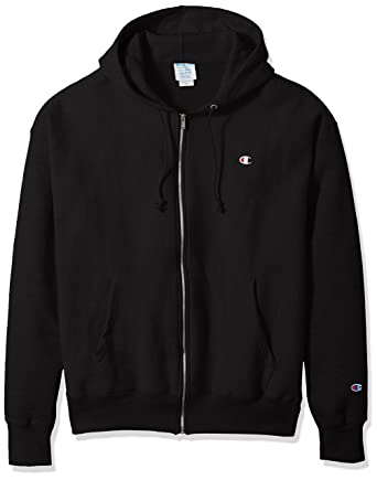 ee9ce4f1a9a3 Amazon.com  Champion LIFE Men s Life Reverse Weave Full-Zip Hoodie ...