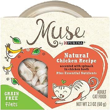 Muse by Purina Receta de pollo natural con spinach en pollo ...