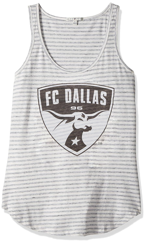 MLS FC Dallas Womens Tank Top X-Large Sun//Grey