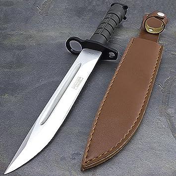 Amazon.com: Cuchillo de combate Militar Estadounidense de ...