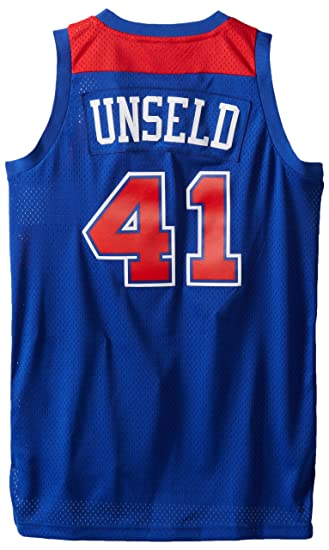 3b587d4c7df ... clearance nba washington bullets blue swingman jersey wes unseld 41  small 8388d baa39