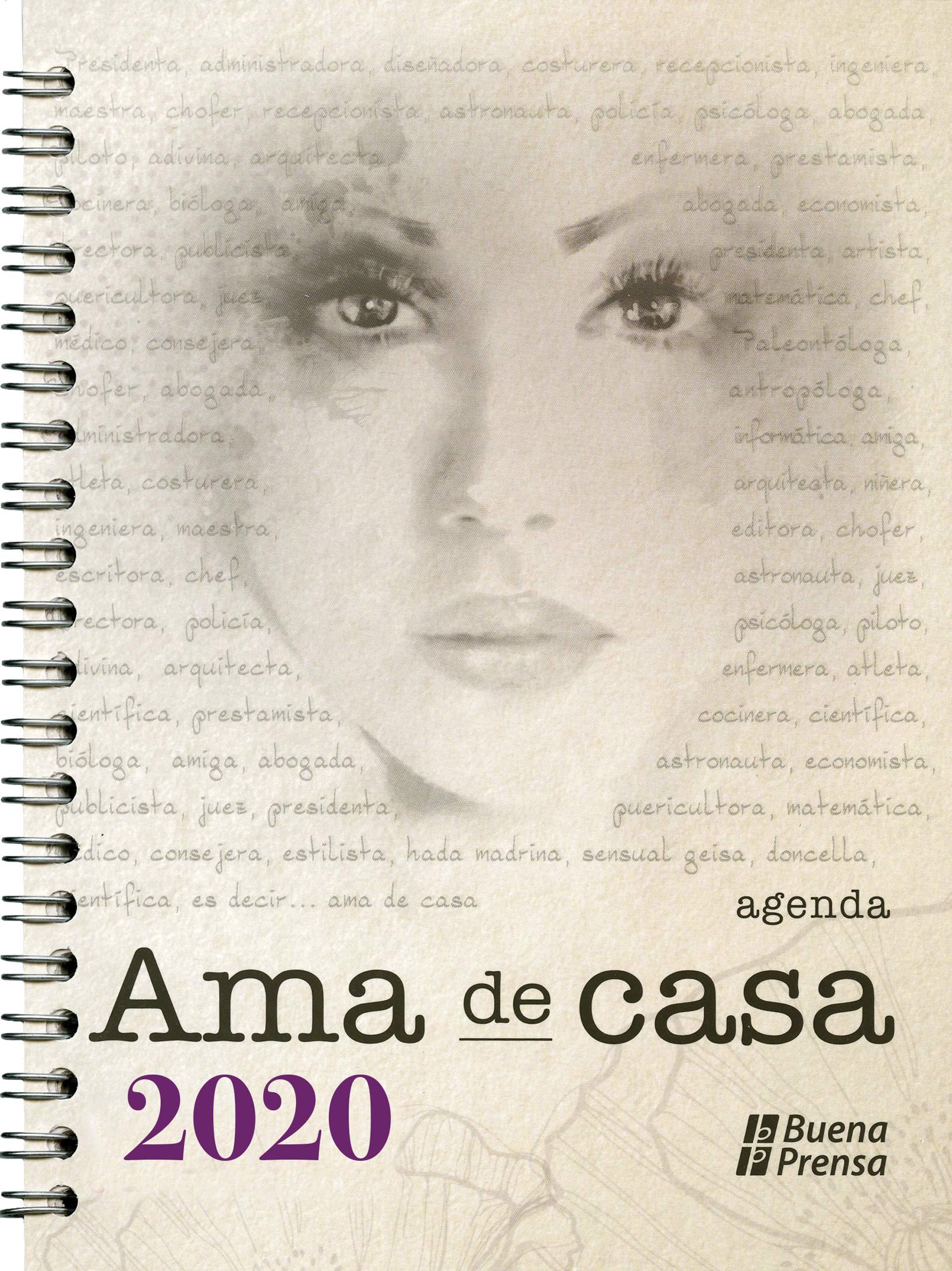 Agenda del ama de casa 2020 (Spanish Edition): Various ...